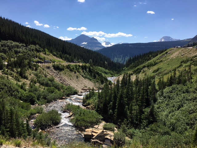 Dirty Boots Project Blog - Picture of creek located in Glacier National Park  Photo © Lisa Coriell